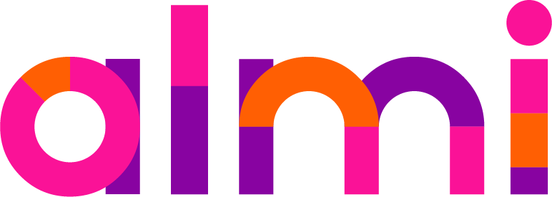 Logotyp för Almi