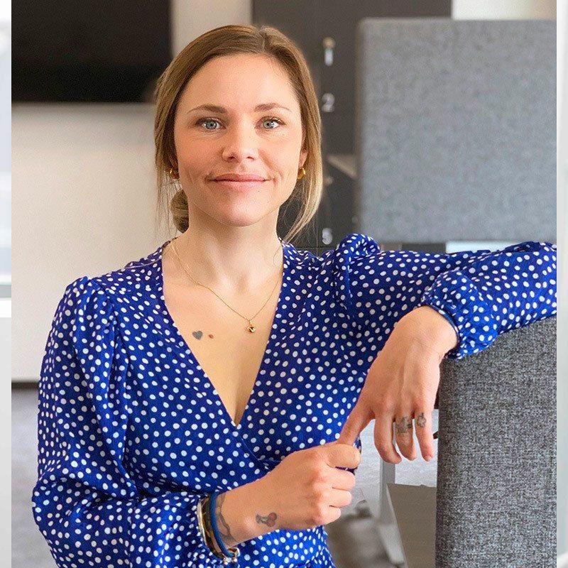 Porträtt Emelie Fredriksson