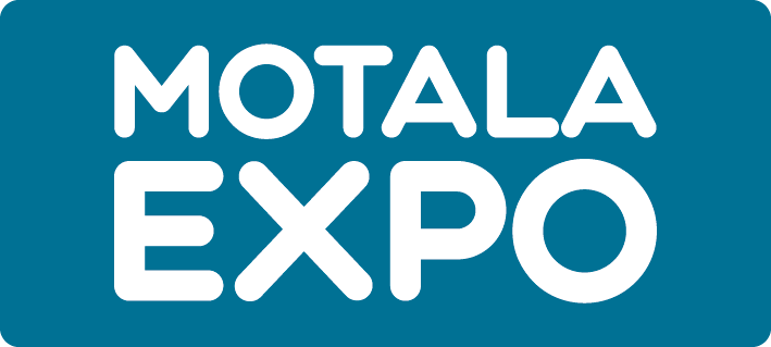 Logotyp för Motala Expo